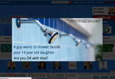 Shower obsession: Conservative media lends voice to anti-transgender views
