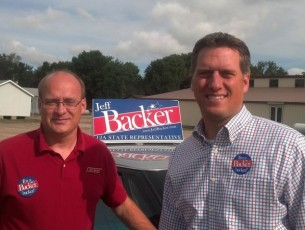 Jeff Backer hates liberal homosexual money, solicits socially conservative campaign cash
