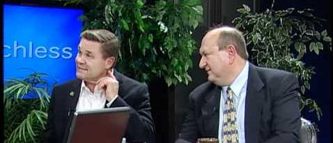 "Rep. Glenn Gruenhagen with his ""ex-gay"" friend"