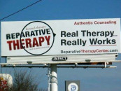 Elk River teens protest 'ex-gay' conversion therapy billboard