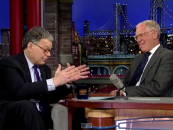 On Late Show, Sen. Franken calls for national LGBT non-discrimination act