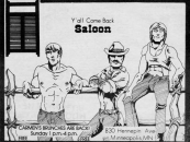 Throwback Thursday: Check out these ads for The Saloon from the early 1980s