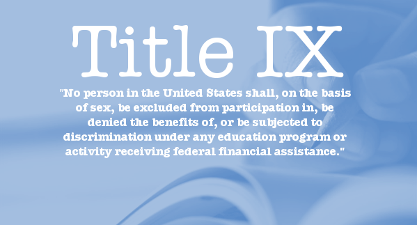 Image result for Title IX clearly prohibits sexual harassment