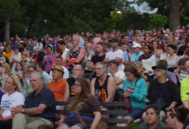 Video: Scenes from Loring Park vigil for victims of Orlando hate crime